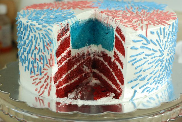 4th Of July Wedding Cakes | 4th of July Cake | Flickr - Photo Sharing!