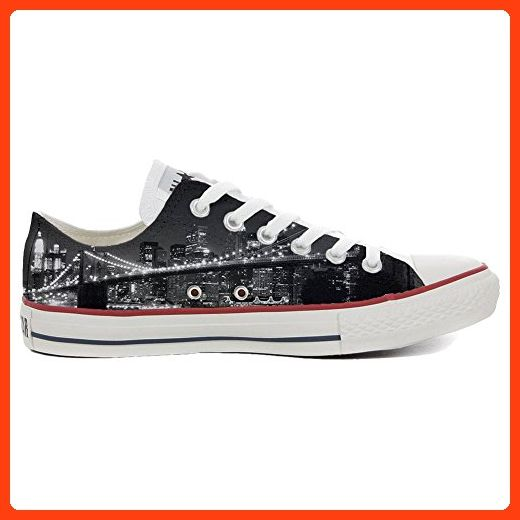Converse Custom Slim personalisierte Schuhe (Handwerk Produkt) Geometric