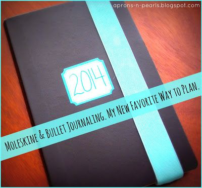 A Peek into my 2014 Planner | Aprons 'n Pearls: one of the best bullet journal/planner ideas I've seen in a while. A must when C starts school.
