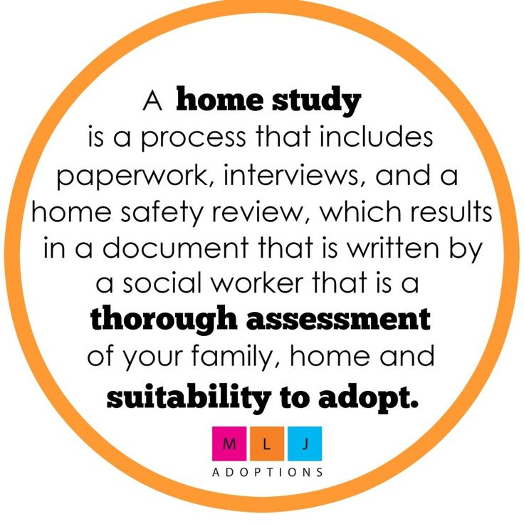 The Adoption Home Study -- Tips and Details