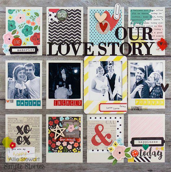 Layout be design team member Allie Stewart
