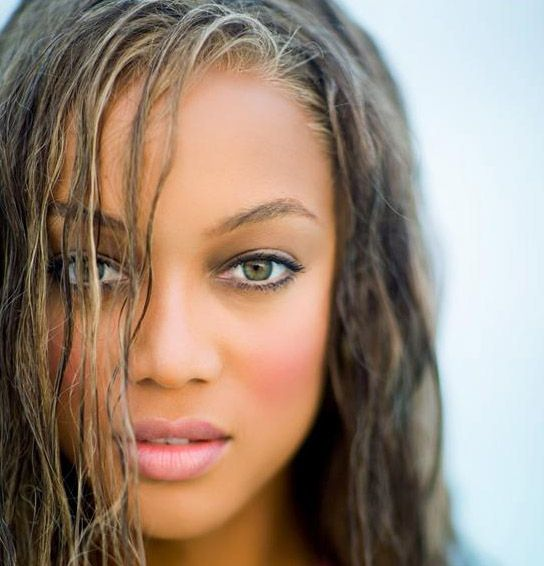 Tyra Banks. A woman who is beyond fabulous. She's crazy and I love her so much!