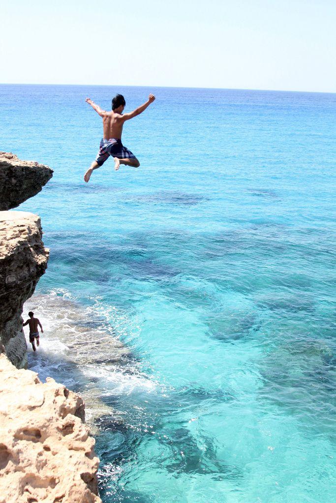 Cliff Jumping @ Protaras, Cyprus