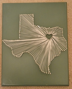 Texas nail and string boardFeelin Crafty, Nails String And Boards Art, Crafty Foxes, Nails And String Boards, String Art, Nails Boards String, Texas Nails, Art Written, Diy Nails
