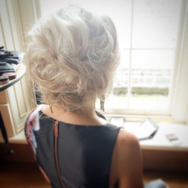 Texturised upstyle  Hair by Aisling Hamill