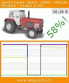 Hornby France - Busch - 42800 - Véhicule Miniature - Tracteur zt 300 (Jouet). Réduction de 58%! Prix actuel 16,16 €, l'ancien prix était de 38,40 €. https://www.adquisitio.fr/busch/hornby-france-42800