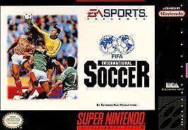FIFA International Soccer (Super Nintendo Entertainment System, 1994)
