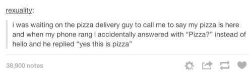 Meeting Pizza: | 28 Of The Most Important Things That Ever Happened On Tumblr