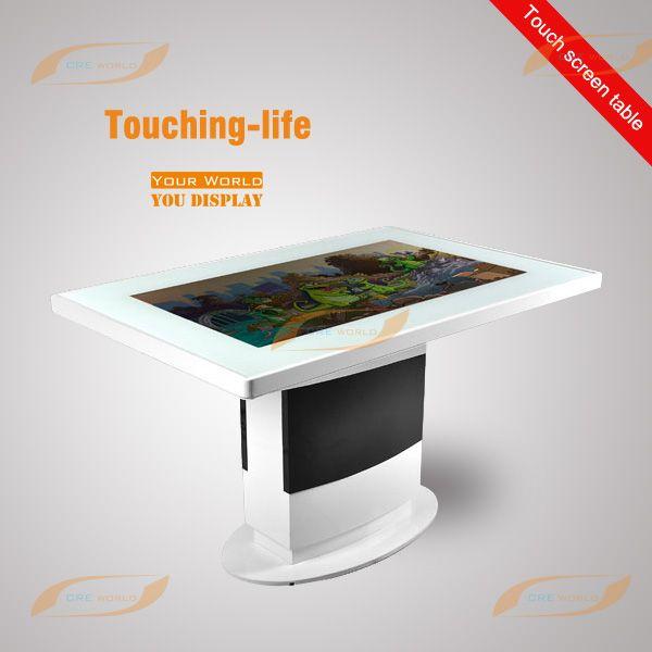 Best Creworld Interactive Lcd Kiosktotemcoffee Tablemagic - Magic coffee table