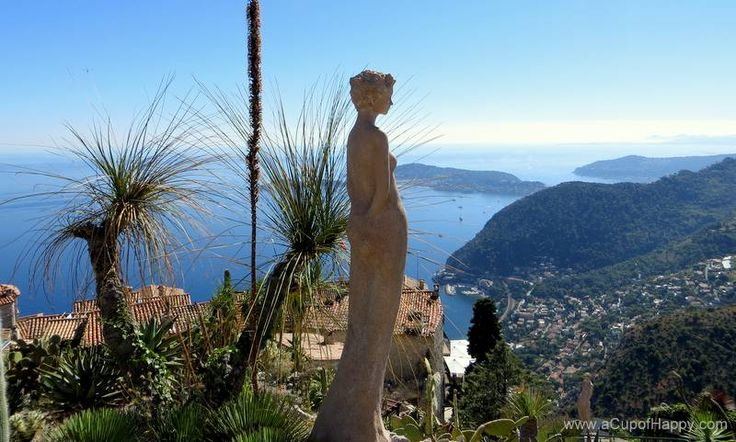 A beautiful medieval town of Eze in the French Riviera.