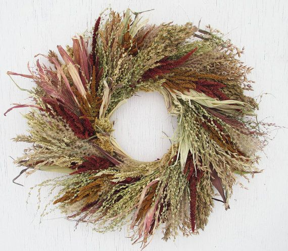 large corn tassel wreath/large corn husk wreath/large handcrafted wreath/broom corn wreath/large indoor wreath/wild wreath/rustic wreath
