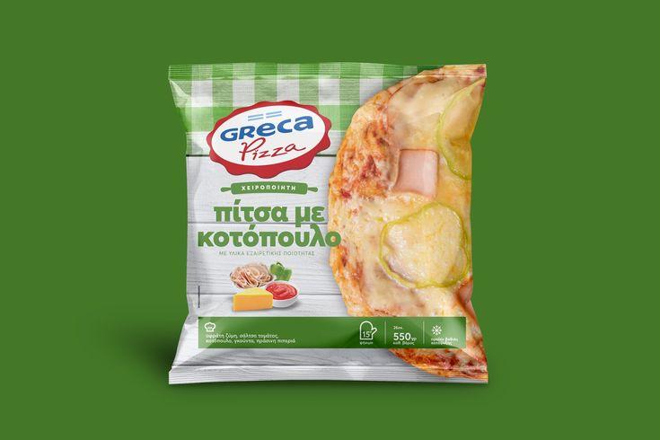 Greca Handmade Chicken Pizza