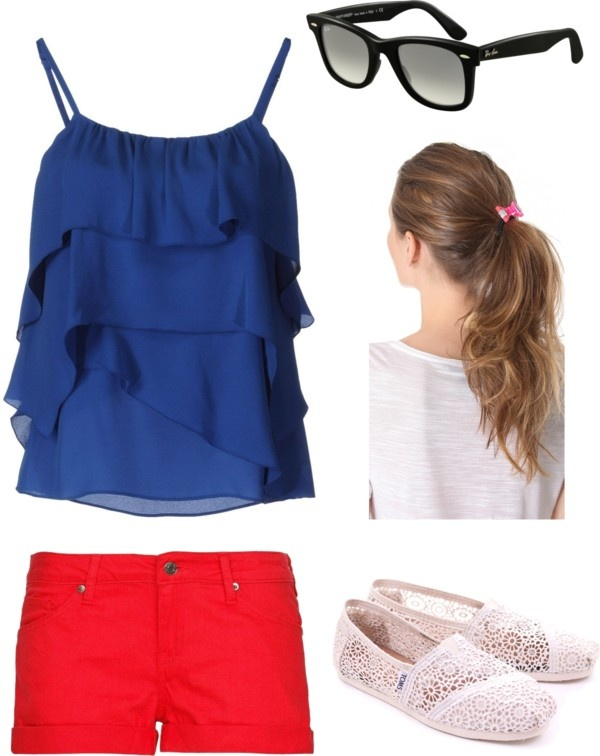 """RANGER NATION! baseball game outfit!!"" by taygaffney ❤ liked on Polyvore"