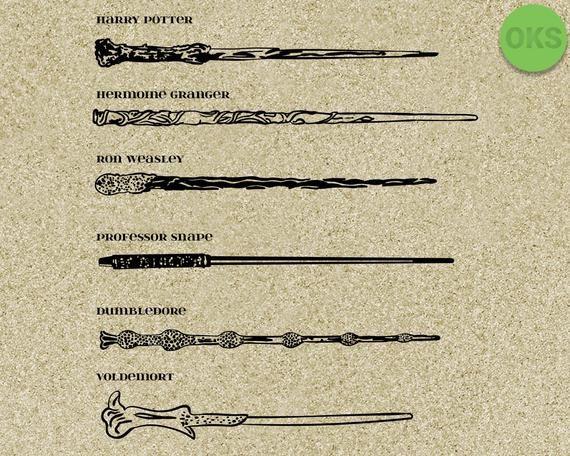 Harry Potter Wand Svg Harry Potter Wand Svg Files Vector Clipart Cricut Download Harry Potter Wand Wands Potter