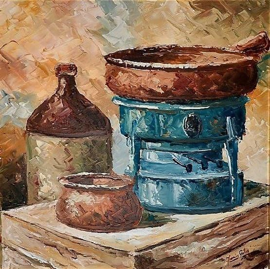 392 best images about maltese painters inkers sculptors for Traditional kitchen equipments
