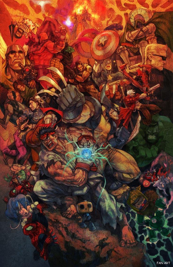 marvel vs copcom | Marvel Vs. Capcom 3 Fan Art Countdown: #2