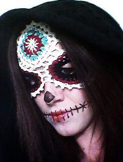 Sugar Skull Mask pattern for SALE