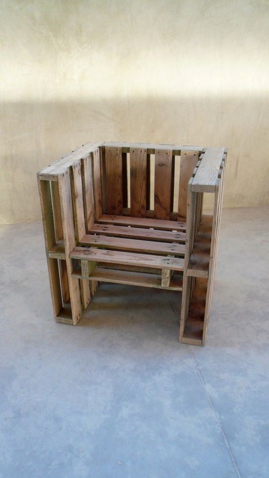pallet chair @ My-House-My-HomeMy-House-My-Home