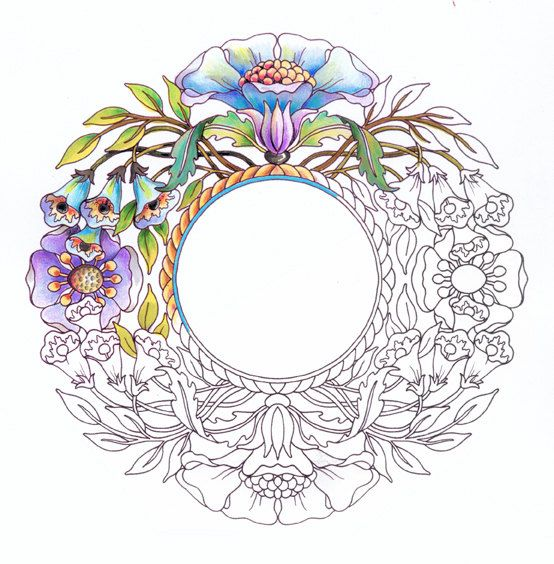 Corone pagine da colorare per adulti-Set di emerlyearts su Etsy