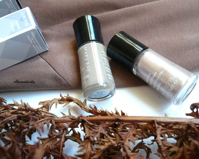"Alenka's beauty: Mary Kay Nail lacquer ""Polished Pearls"" & ""Gallery..."
