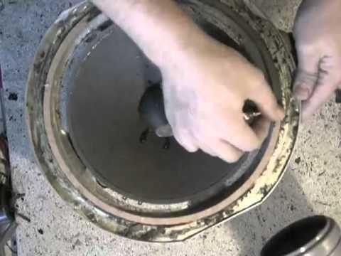 Acoustic Research AR-9 Woofer Refoam Sicke Reparatur - YouTube