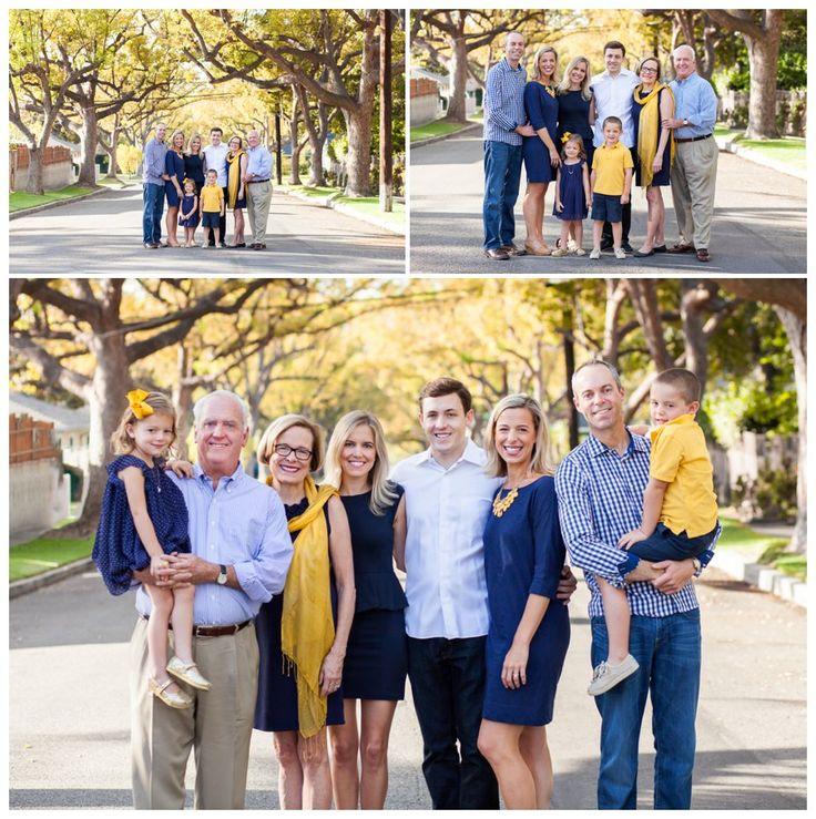 Large Family Portrait Color Ideas