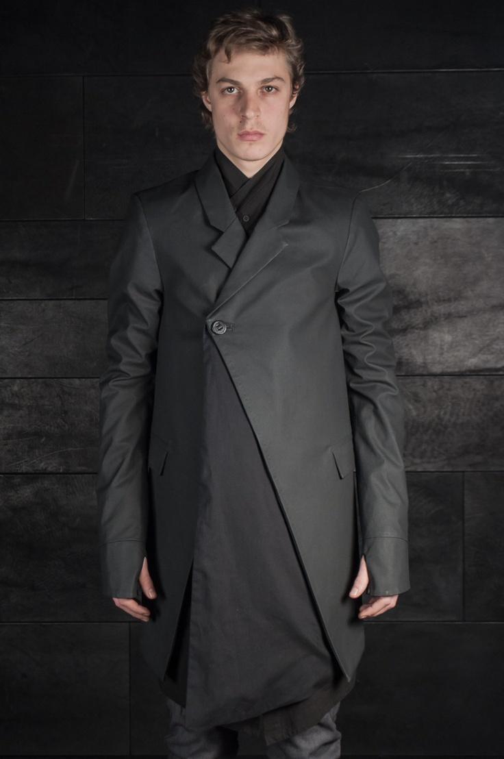 Boris Bidjan Saberi – One Button Long Jacket