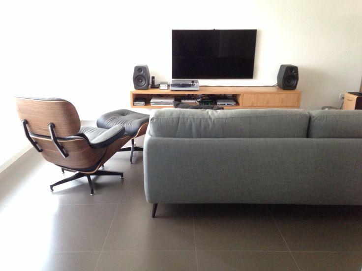 Living room, Ditre Italia kris low sofa