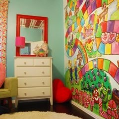 Ashlee Would Love This Candyland Theme Kids Bedroom