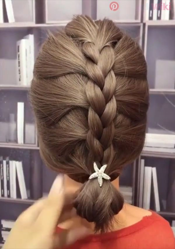 Easy hairstyle idea!