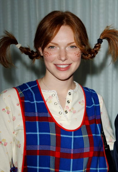 Pippi Longstocking - think this'll be my costume this year :)  I think I'm over being called Pipi in middle school now.
