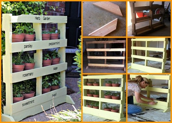 Herb Garden: 10 Creative DIY Ideas - Find Fun Art Projects to Do at Home and Arts and Crafts Ideas | Find Fun Art Projects to Do at Home and Arts and Crafts Ideas