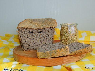 Moje Małe Czarowanie: Chleb z kaszy jaglanej z lnem