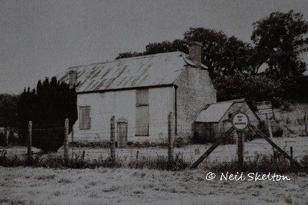Imber Baptist Chapel in 1974
