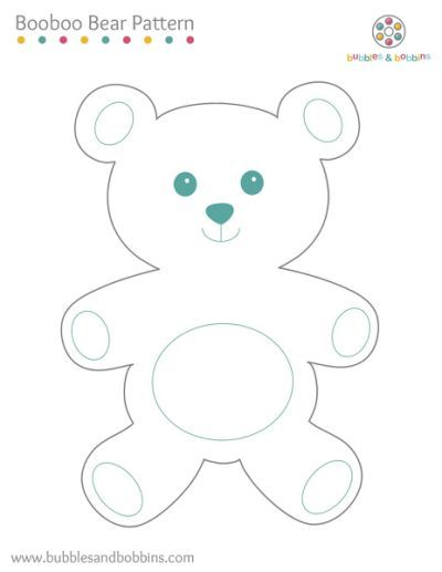 teddy bear outline template Car