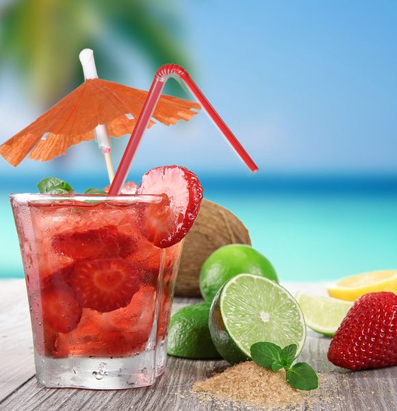 How to Throw a Backyard Beach Party: Beaches, Beach Cocktails, Color, Food, Pink, Summertime, Drinks, Summer Time