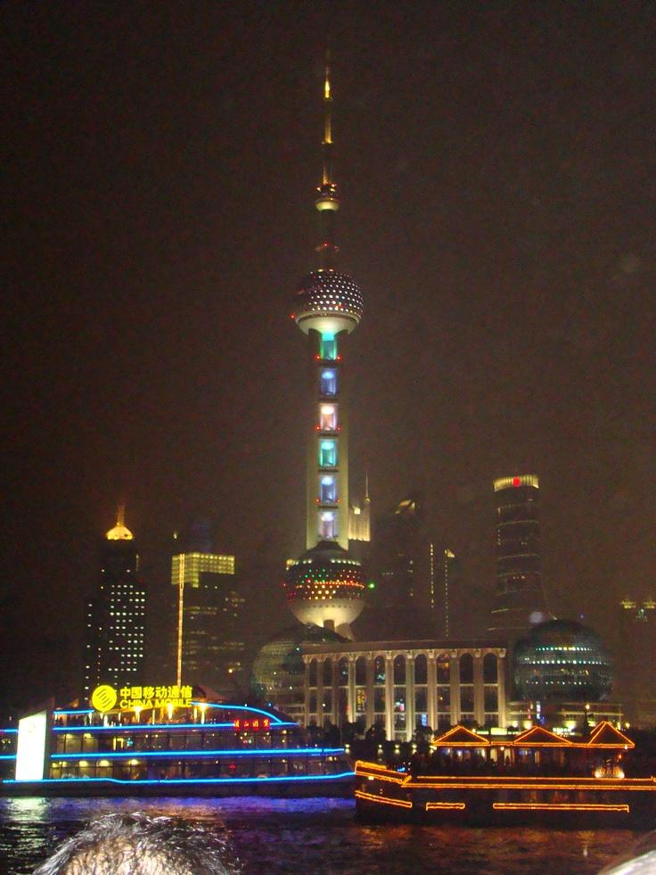 Sjanghai by night