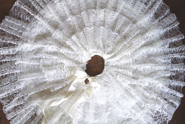 Lovely Lace Christmas Tree Skirts for SALE!!