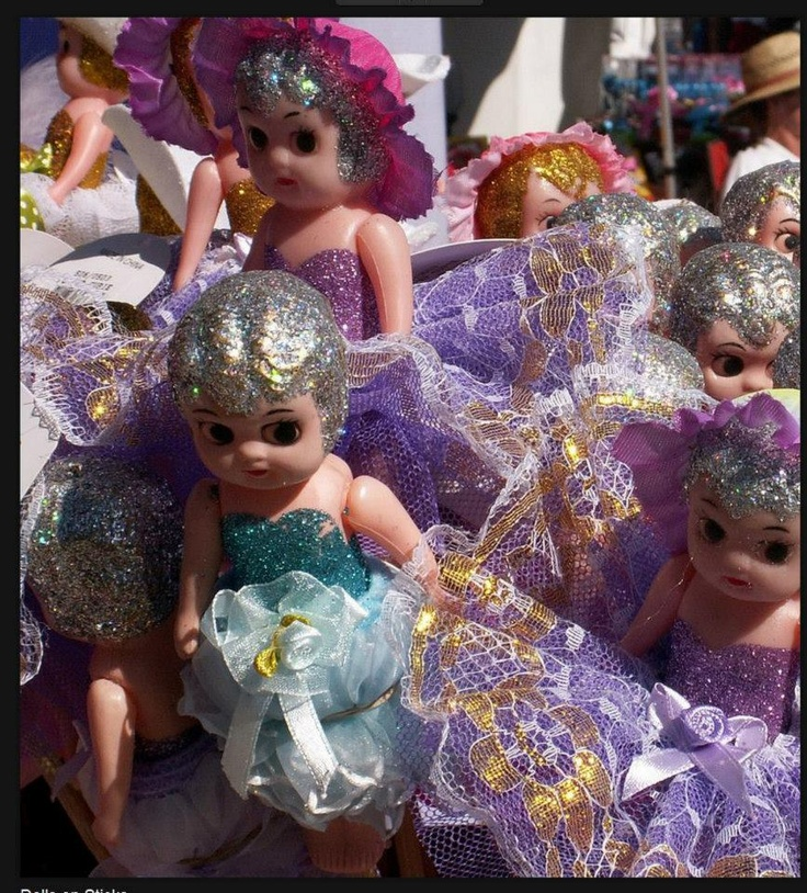 Carnival & Party made the original Kewpie dolls at the Royal Easter Show!