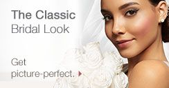 The Classic Bridal Look. Get picture-perfect.