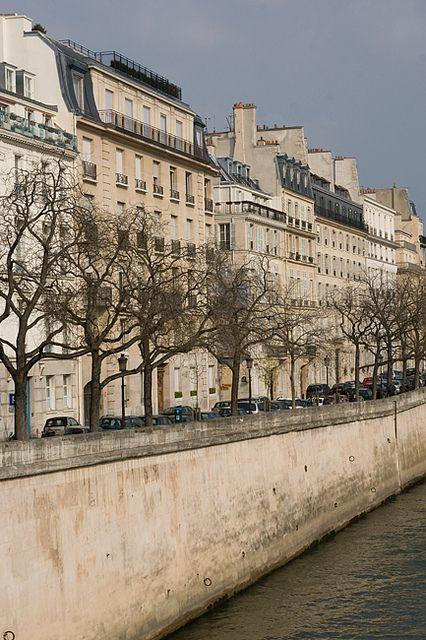 Quai d'Orléans, Ile Saint Louis, Paris
