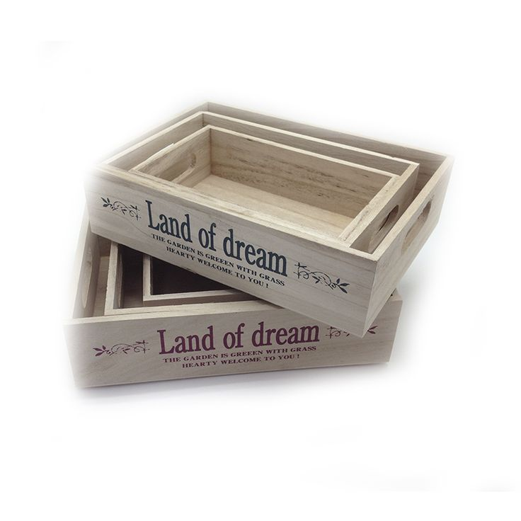 Set de Cajas para Jardín Land of Dream http://www.tuttematute.cl/set-de-cajas-para-jardin-land-of-dream
