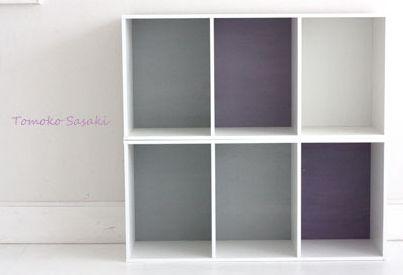 簡単!カラ-ボックス壁色変えてお洒落に変身 : カラーボックスがすごい!プチリメイク&こんなあんな便利な使い方 - NAVER まとめ