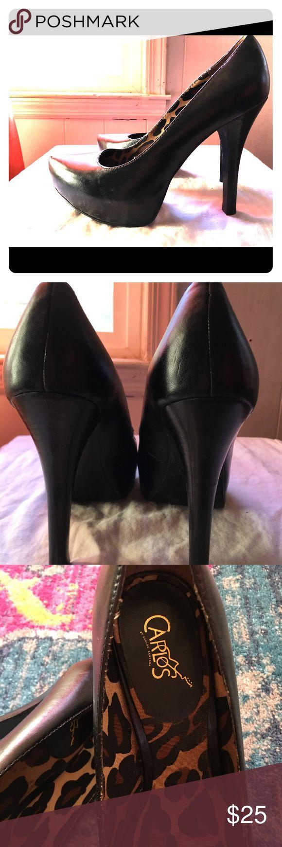 Carlos Santana high heel platform shoe 🌟⭐️💫worn 1-2 times in good condition.  🌟make me an offer.  🌞 Carlos Santana Shoes Platforms