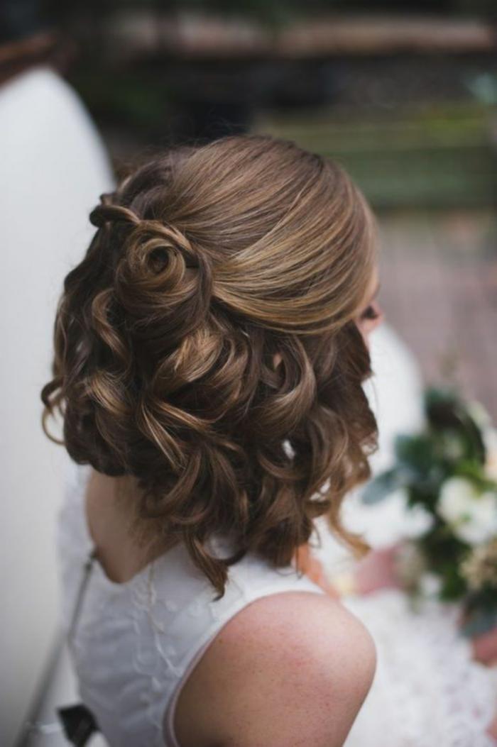 neu trend frisuren 2019 coiffure mariage cheveux court