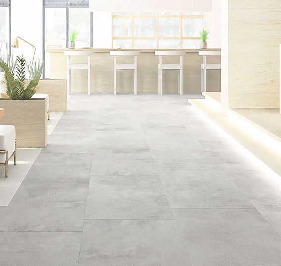 Brooklyn Grey Concrete Effect Porcelain Floor Tile Porcelain Flooring Porcelain Floor Tiles Concrete Tile Floor