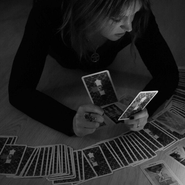 Reading tarot cards after a ritual can give you answers about how the ritual will develop the magical process.