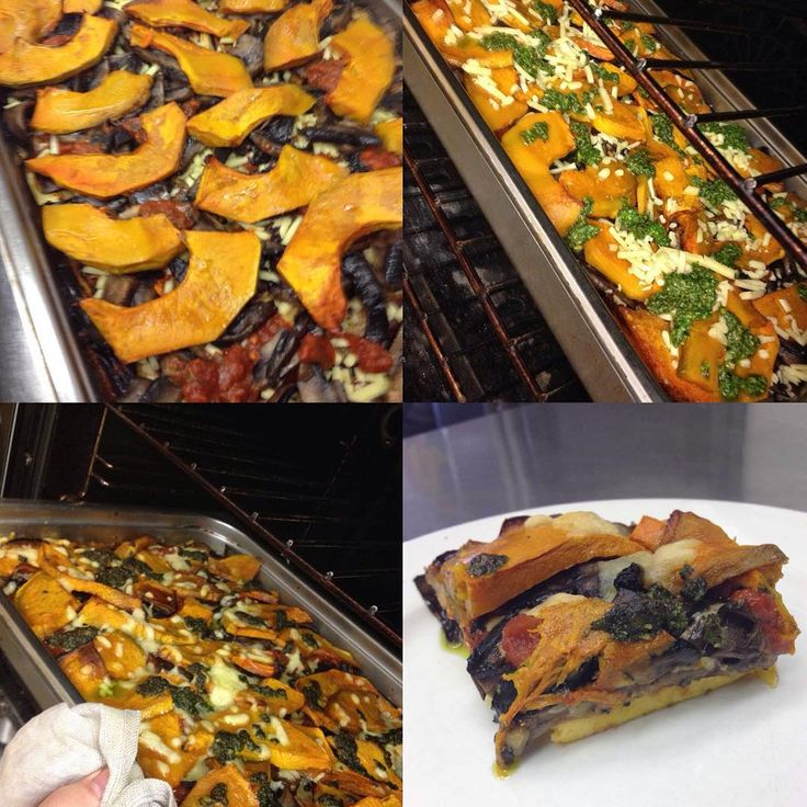 Making Polenta Pizza - Steps 5 to 8. Full recipe can be found at www.johnmeyer.com.au #johnmeyer #vegetarian #berkelouwcafeeumundi #polenta #pizza