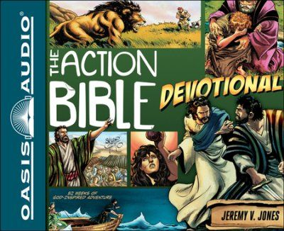 The Action Bible Devotional: 52 Weeks of God-Inspired Adventure Unabridged Audiobook on CD