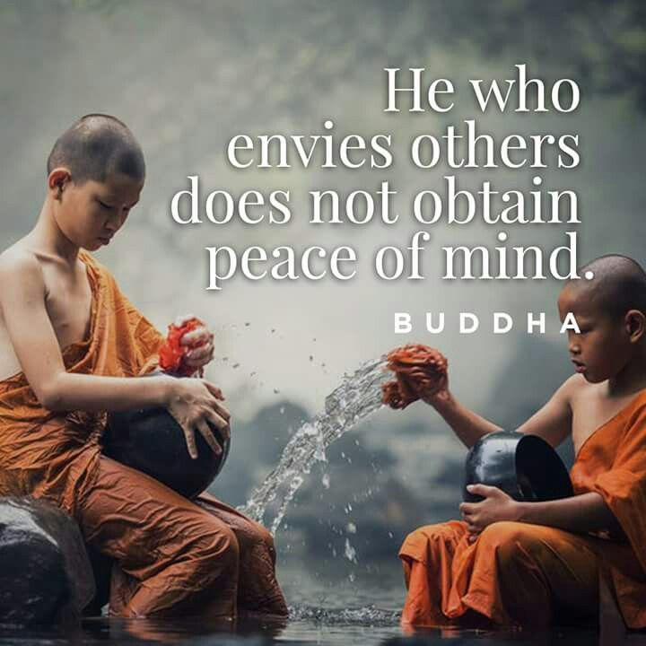 Envious others does not obtain peace of mind